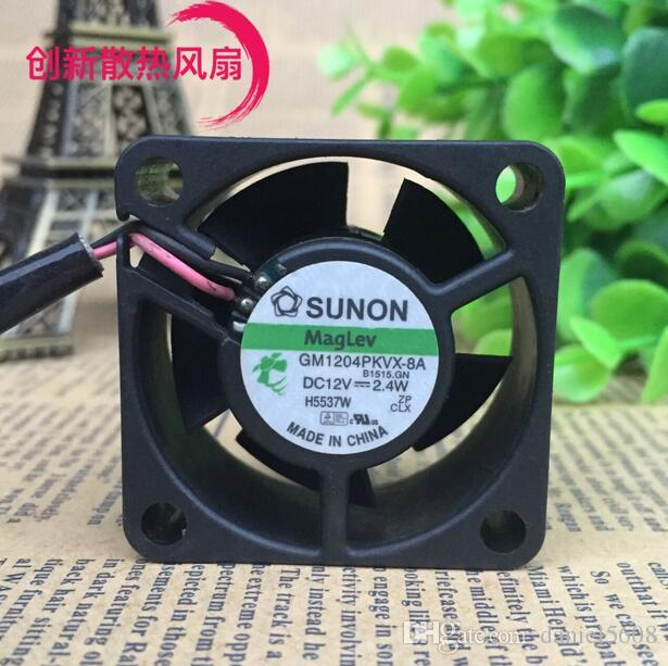 Original SUNON 4020 GM1204PKVX-8A DC12V 2.4W 40*40*20MM 2 line axial fan