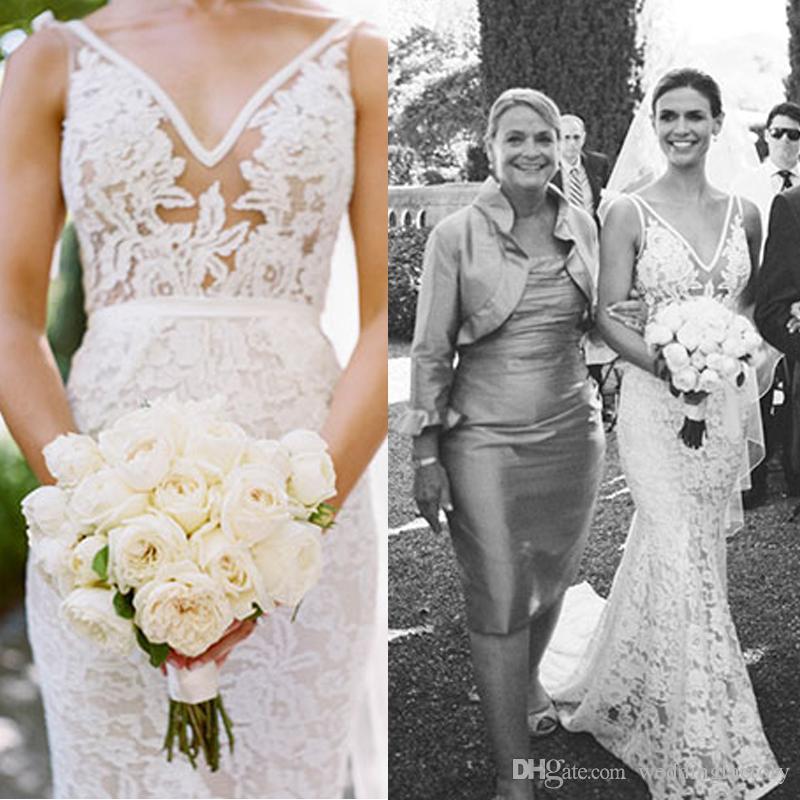 Inbal Dror Wedding Gowns: 2016 New Style Inbal Dror Wedding Dresses Sexy Mermaid See