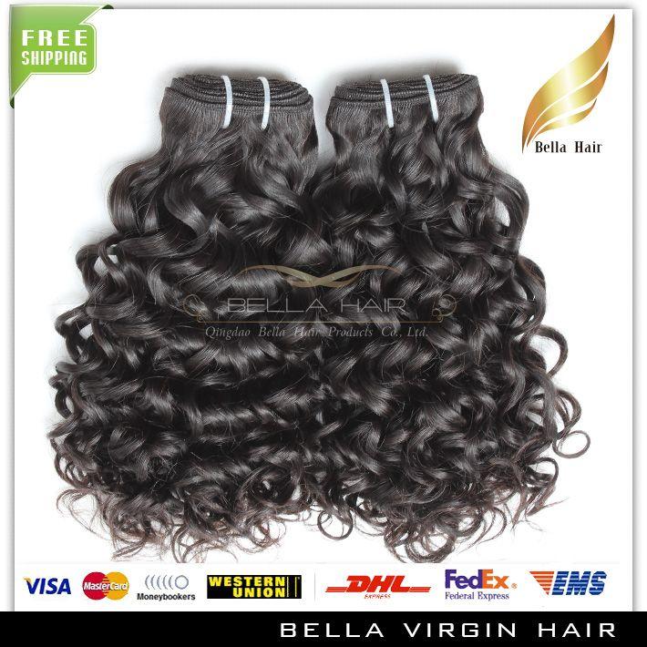 BellaHair® 8A Water Wave 8~30inch Brazilian Virgin Extensions Natural Color Human Bundles 300g