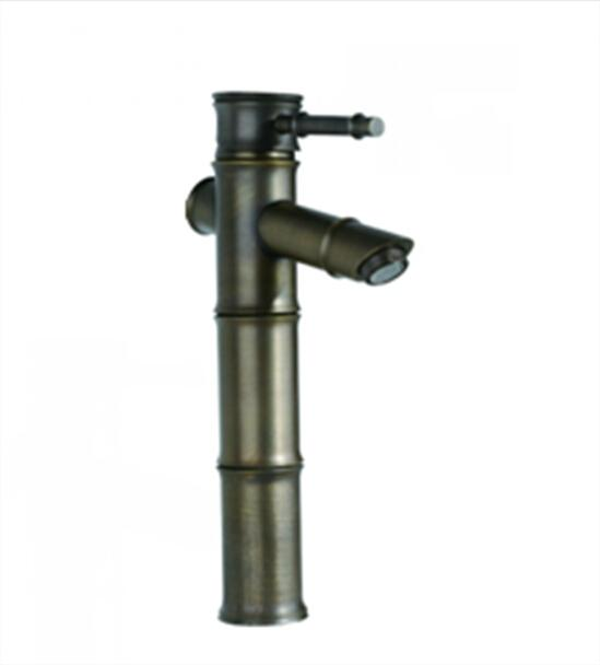 Water Tap Antique Copper Kitchen Faucet Cold And Hot Two Way Control