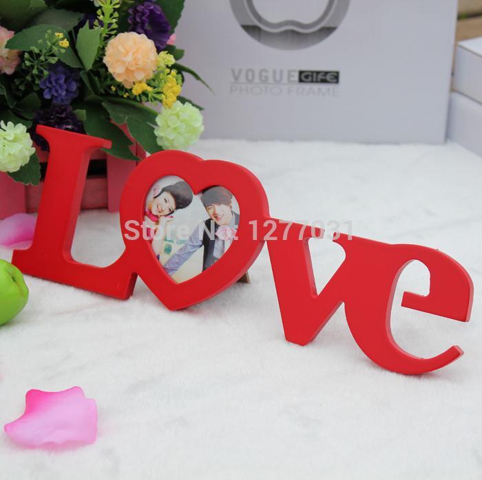 Großhandel Foto Rahmen Hölzerne Hochzeit Bilderrahmen Creative ...