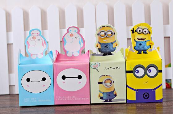 Baymax Cartoon Christmas Gift Wrap Minions Cartoon Design Apple ...