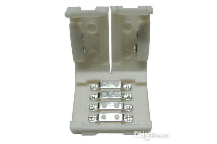 8mm 3528 및 10mm 5050 5630 smd 단일 색상 및 4pin DC RGB 5050 LED 스트립에 대 한 최신 led 스트립 커넥터