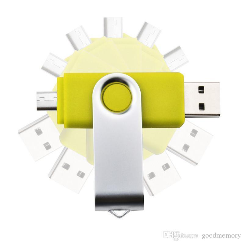 4 GB 8 GB 16 GB 32 GB USB Flash Sürücü Smartphone Tablet PC kalem sürücü OTG harici depolama mikro usb sürücü memory stick USB2.0