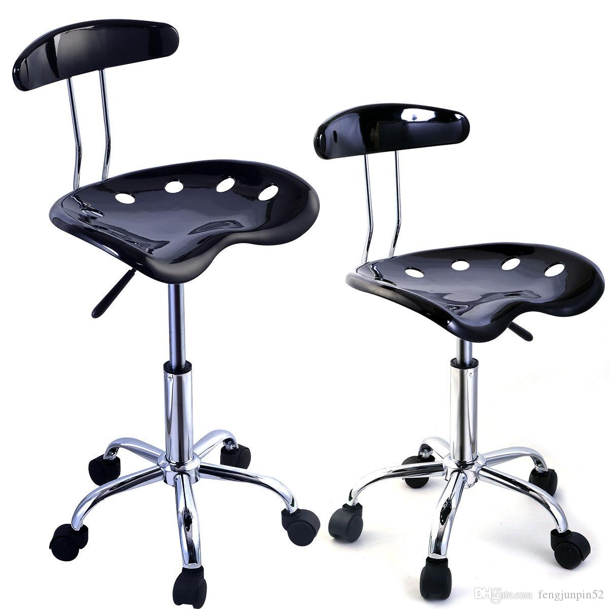 Online Cheap Adjustable Bar Stools Abs Tractor Seat Swivel Chrome Kitchen  Breakfast Black By Fengjunpin52   Dhgate.Com