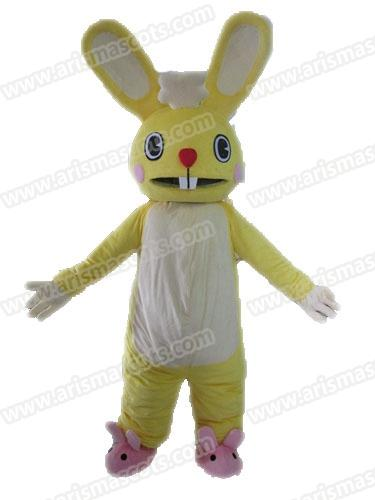 AM9210 Funny Adult Size Rabbit Mascot Costume Outfits Custom Animal Mascots  For Advertising Team Mascot Character Design Deguisement Mascott Costumes  For ...