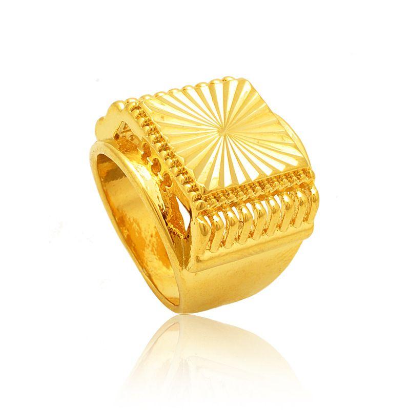 Engagement Rings Gold New 2015 Hot Sale Gold Men 24k Gold ...