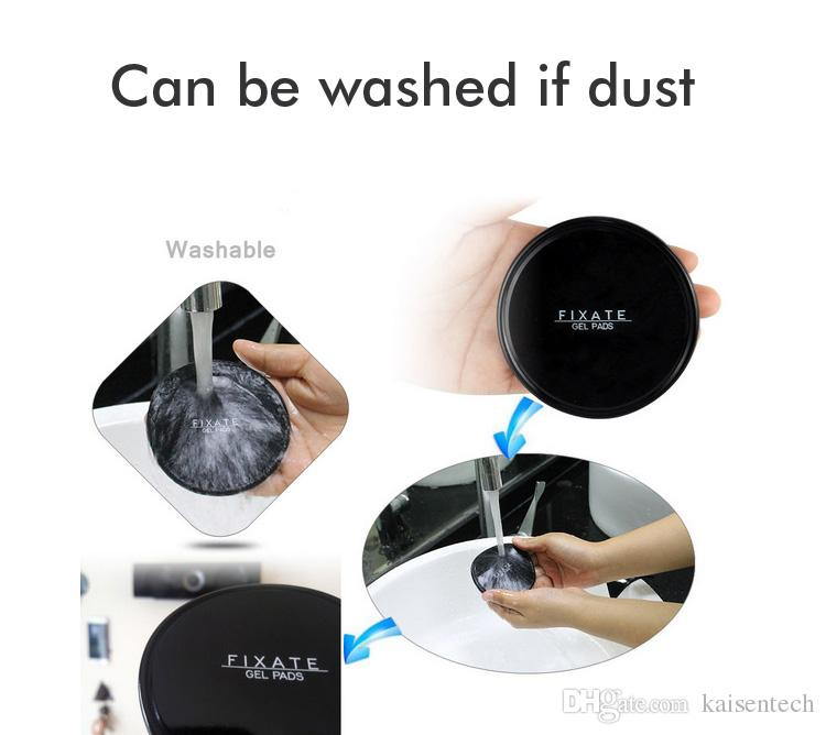 Strong Stick Glue phone holder Fixate Cell Pads Sticky Anti-Slip GEL Pads Stick to Glass, Mirrors, Whiteboards Metal Kitchen Cabinets Tile