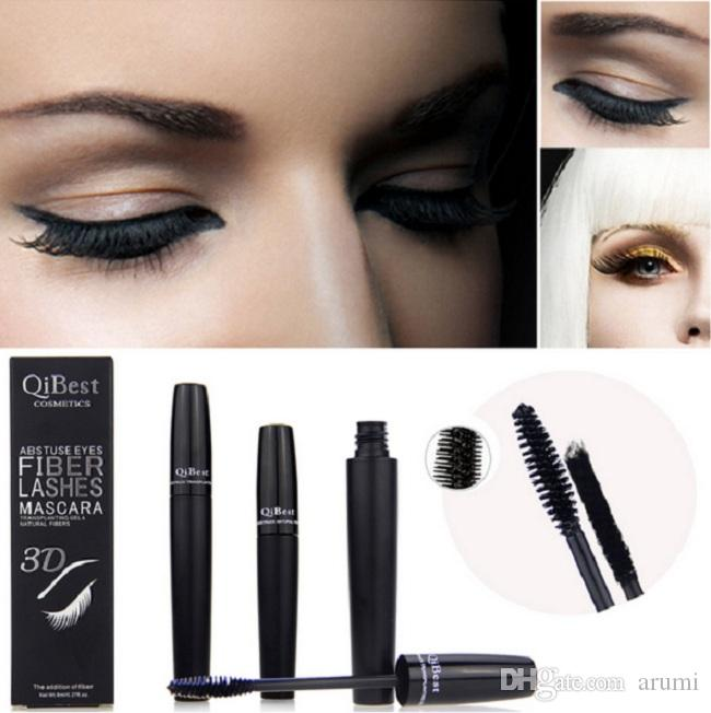 Mascara 3D Mascara Mascara Cosmetics Mascara Nero Doppio Mascara Set Lash Ciglia Mascara Impermeabile New Mascara 2 pz =