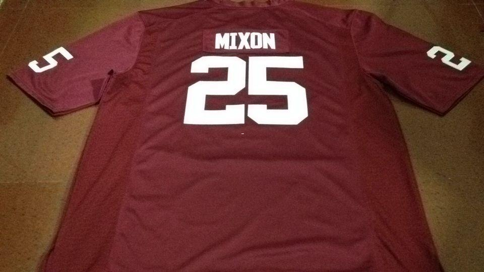 sale retailer 3569f 4b302 Youth #25 Joe Mixon Red White Oklahoma Sooners Alumni College Jersey or  custom any name or number jersey