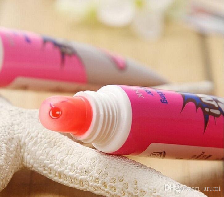 Instock Hot Romantico Bear Lip Gloss Gloss Donne Make Up 12ml Tint Wow Tinta Tinta Tinta Tinta Tinta Peel Off Libb animato Rossetto Libb animato Tatto impermeabile Lip Gloss