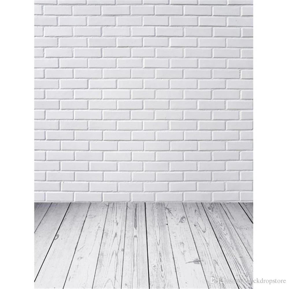 2018 White Brick Wall Photo Studio Background Digital