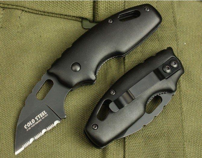 Холодная сталь 710MTS складной карманный нож 440C лезвие алюминиевая ручка кемпинг выживания нож бесплатная доставка 1 шт.