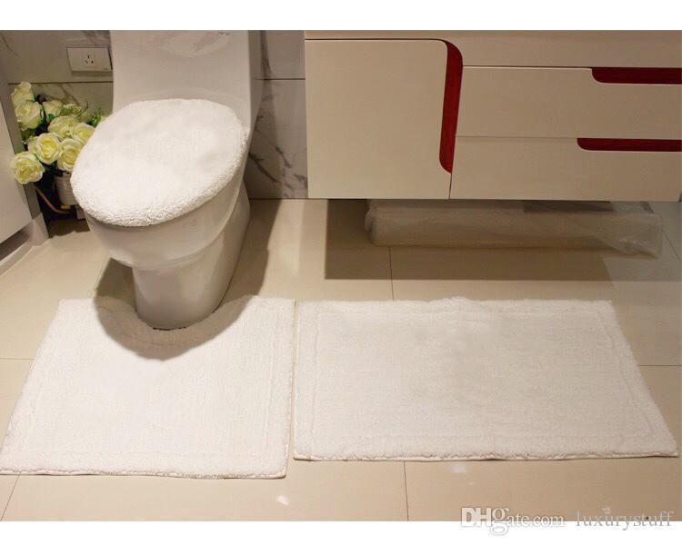 Astounding 2019 White Black Luxury Bathroom Rug Set Bathroom Rugs Mat Set Toilet Seat Covers Sets Seat Toilet Seat Sets From Luxurystuff 53 27 Dhgate Com Andrewgaddart Wooden Chair Designs For Living Room Andrewgaddartcom