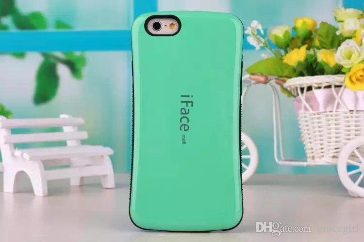 IFACE Case для Iphone X XS MAX XR 8 7 7PLUS I7 6S 6 Plus 5 5G 5s Корея мыло защитный гибридный мягкий TPU жесткий противоударный сотовый телефон обложка кожи