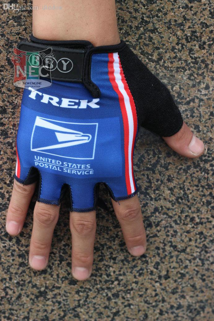 f75719550 Wholesale-Cycling Gloves USPS BLUE TEAM Tour of France Half Finger ...