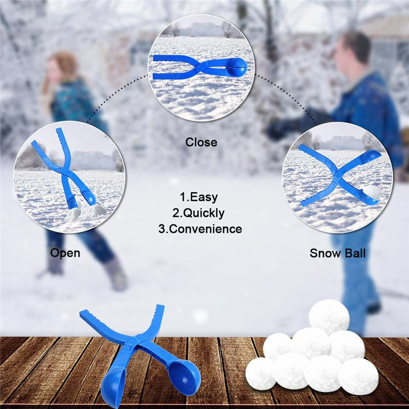 Winter Sports Toy Snow Ball Maker Sand Mold Snowball Maker Sand Snowball Mold Tool For Winter Outdoor Play