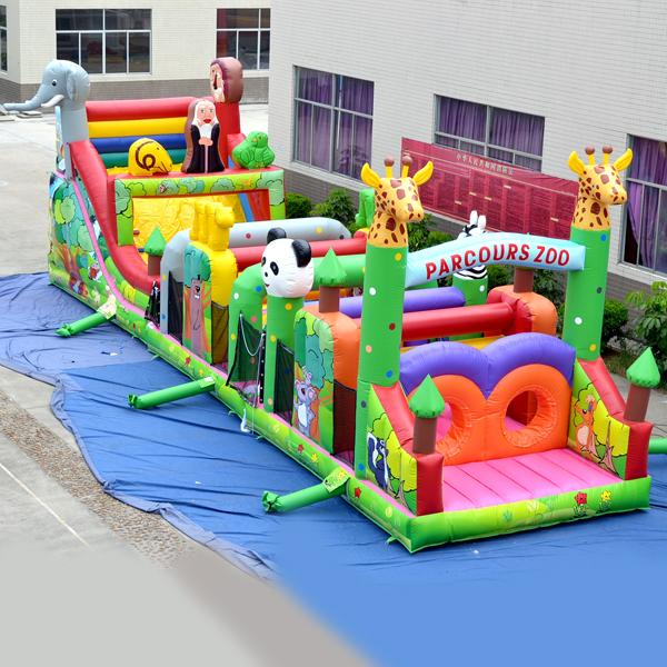 2019 Aoqi Inflatable Obstacle Course Factory Price