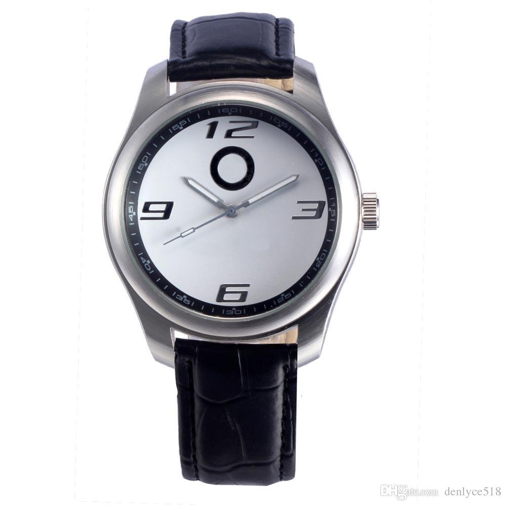 De boa qualidade Relógio de pulso de quartzo da correia de couro popular dos homens do logotipo de Ben do carro 505