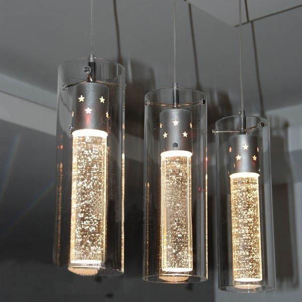 Discount Modern Light New K9 Crystal Bubble Chandelier Bar Modern ...