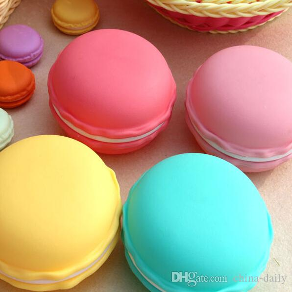 Free Ship Large 10*10*5cm Macaroon Box Cable Jewelry Box Gift Earrings Rings Necklaces Wedding Storage Box