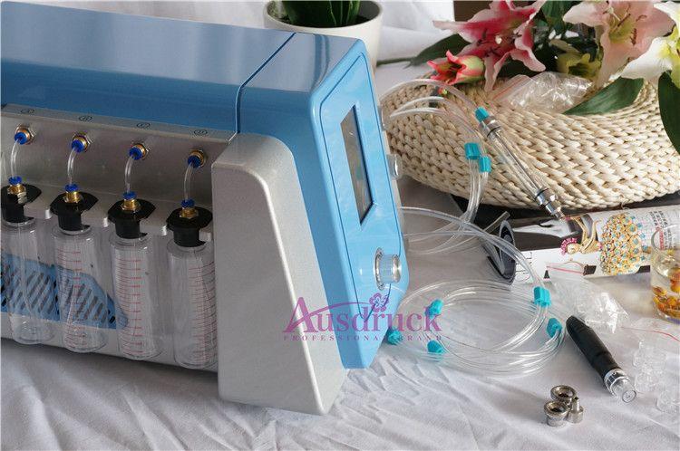 EU tax free Hydro Dermabrasion Water Skin Rejuvenation Anti Aging Diamond Microdermabrasion Hydro Peeling Facial Machine Spa salon equipment