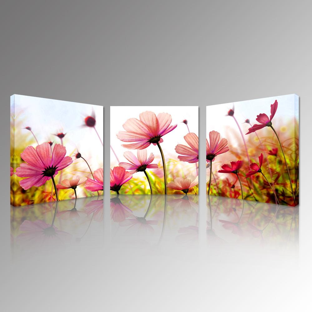 Flower Canvas Wall Art 2017 pink recollections canvas prints beautiful flowers picture