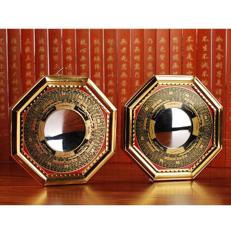 Feng Shui Bagua Mirror Pakua Concave Convex Exorcism No Evil Tai Chi