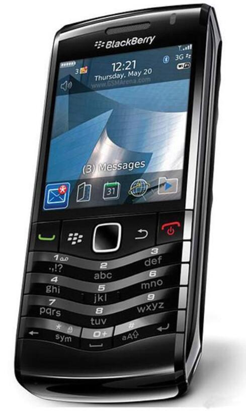 الأصلي بلاك بيري 9105 مقفلة الهاتف المحمول 3G WiFi GPS 3.2MP رباعية الفرقة BlackBerry OS 5 تم تجديد الهاتف