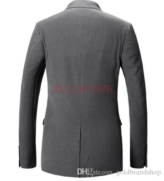 Весна Коллекция горячие мужчины деловые костюмы платье мода культивировать свою мораль