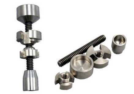TD01 chiodo senza titanio in titanio entrambi 14,5 mm e 18,8 mm Vendi come torte calde universale