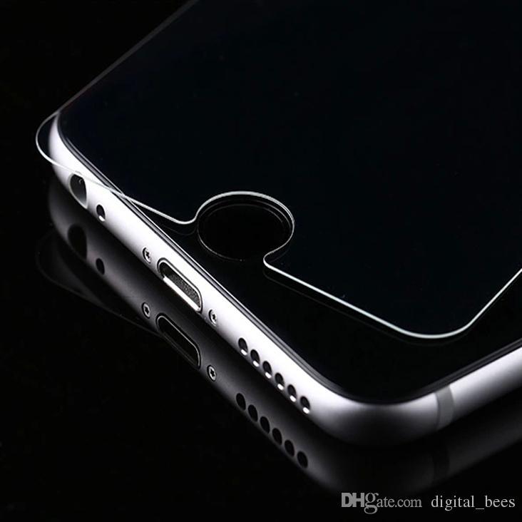 Pour iPhone 11 Pro Xs Max Xr en verre trempé de haute qualité Film de protection écran Clear View Temper verre 9H 2.5D Anti-Cratch