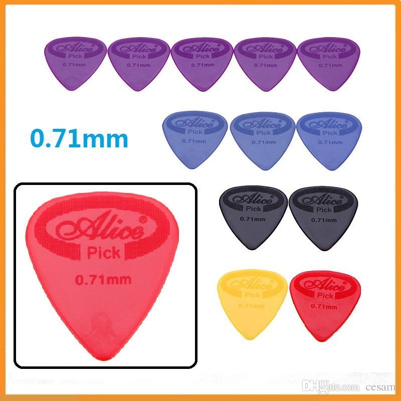 Brand New Professional Alice Guitar Picks AP G 071mm Projecting Nylon Plectrums 200Pcs