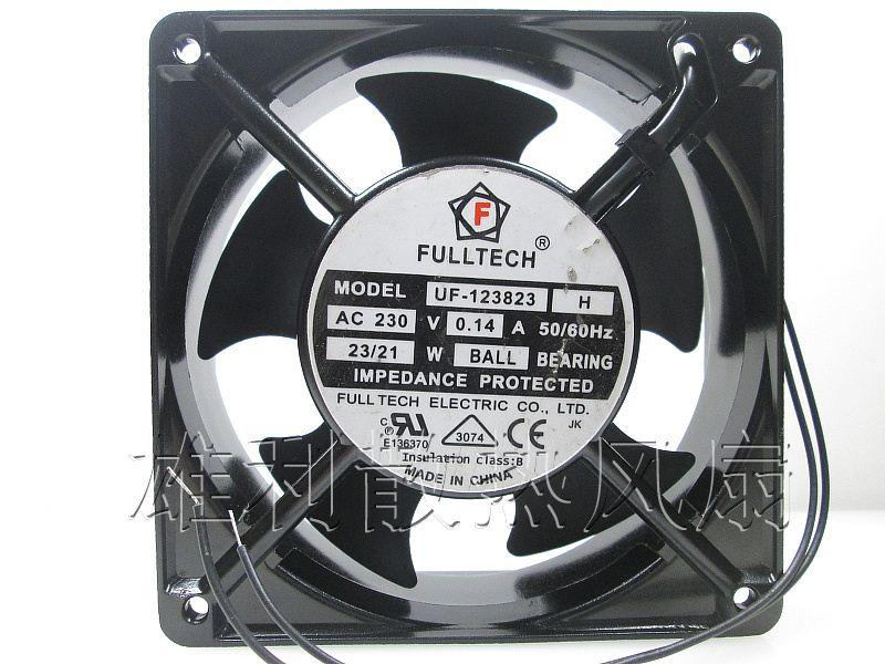Original FULLTECH UF-123823H 230V 0.14A 120 * 120 * 38MM 12 cm industrial cooling fan
