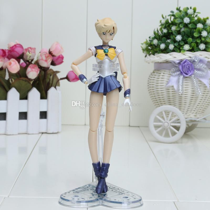 Nova Chegada 15 cm Anime Sailor Moon PVC Figura de Ação Toy 9 estilos pode escolher