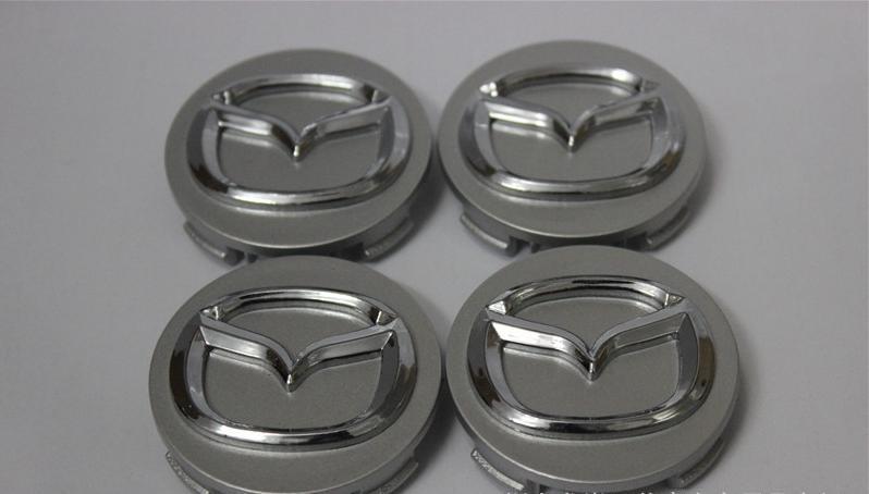 56 мм Mazda логотип автомобиля эмблема колеса центр ступицы Cap знак пылезащитные чехлы для MAZDA 2 3 5 6 CX-5 CX-7 CX-9 RX8