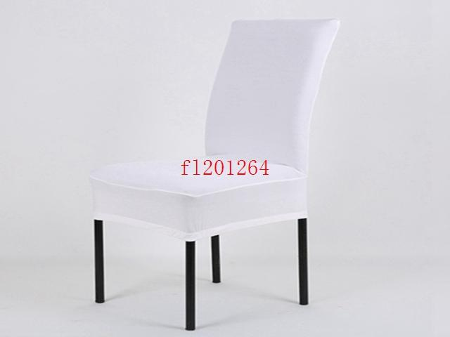 2015 White Spandex Chair Cover Wedding Chair Covers for Weddings Party Decorations Banquet Hotel
