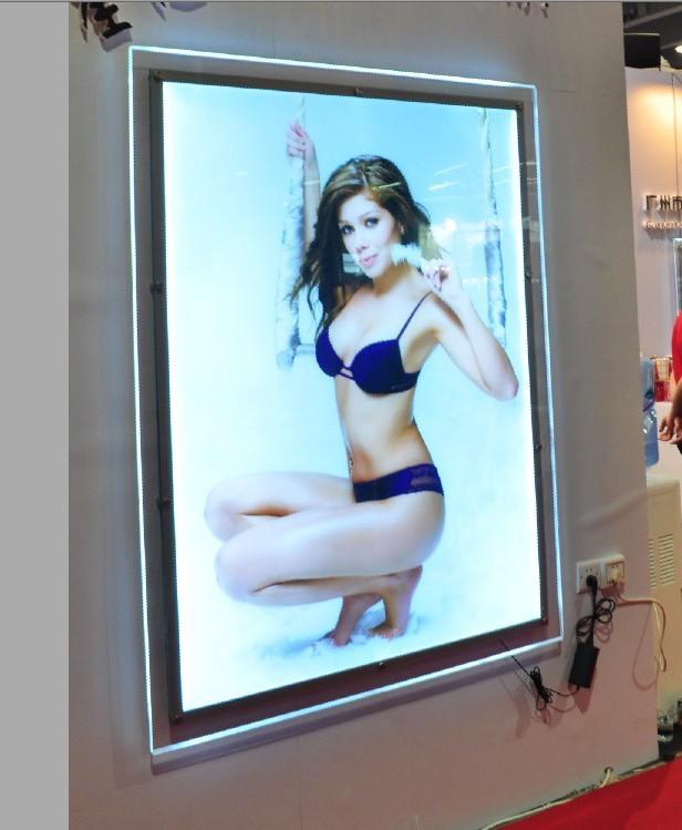 2018 Ultra Slim A2 Acrylic Led Illuminated Picture Frame Lightbox ...