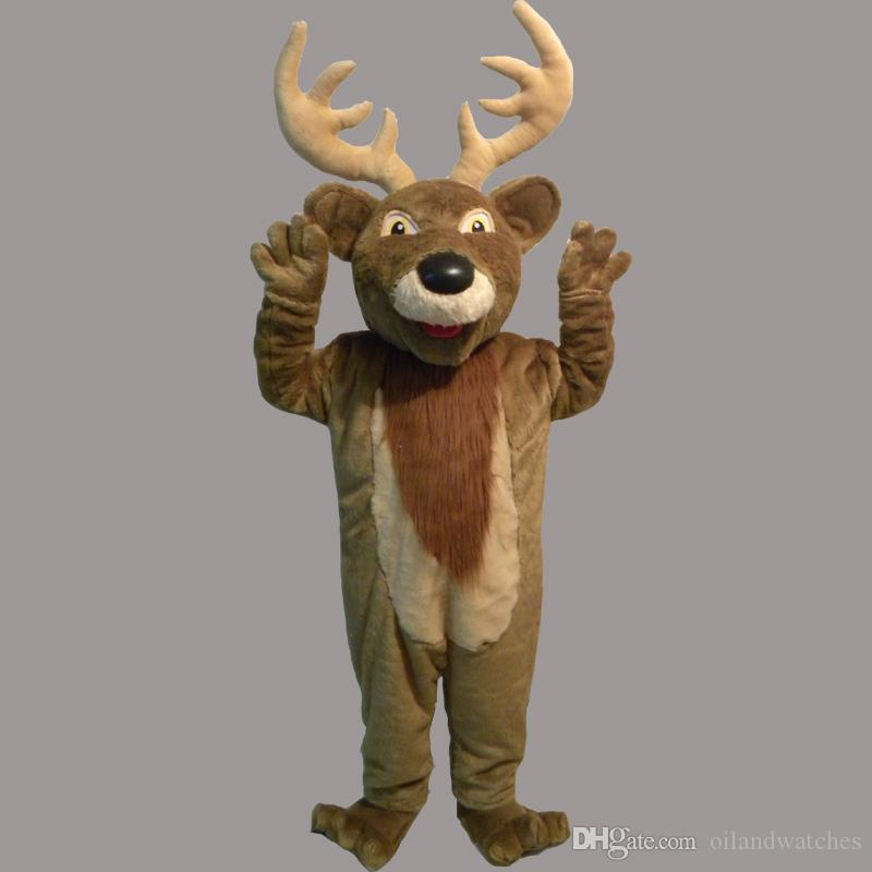 new lovely new style christmas reindeer deer mascot costume for festival hallooween christmas alligator mascot costume halloween costumes masks from