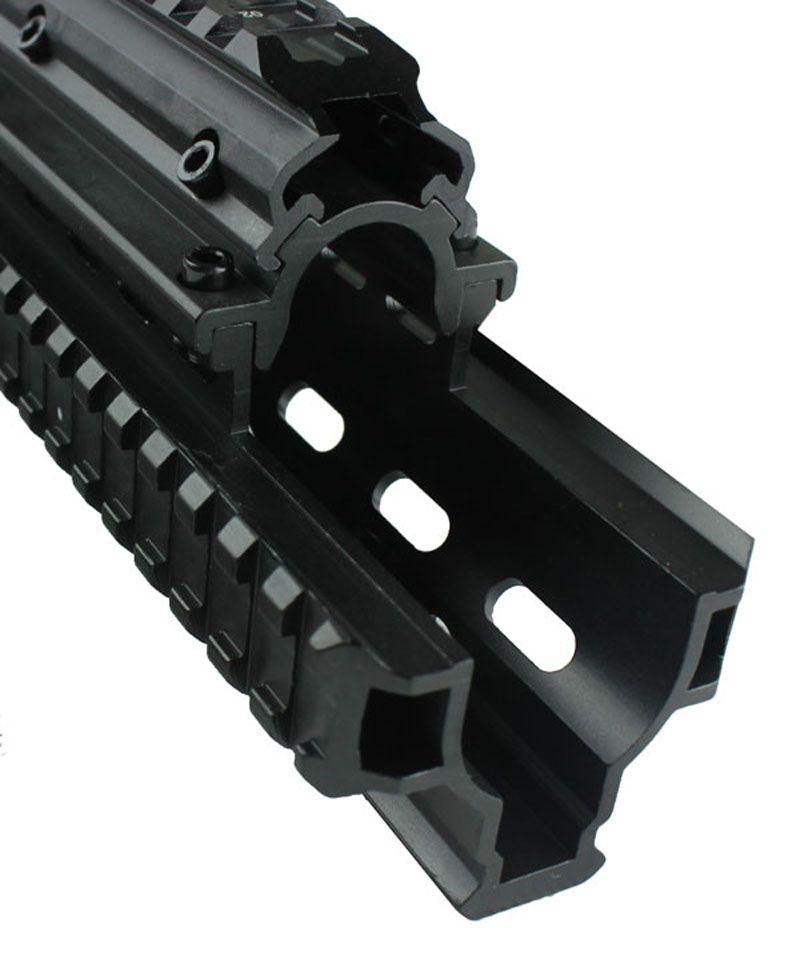 Funpowerland High quality Saiga12 Tactical Picatinny Quad Rail Mount System