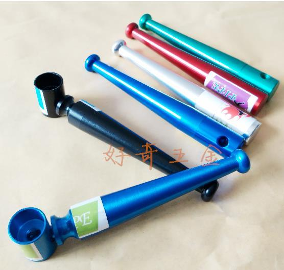 Baseball small factory direct pipe freestyle portable pipe tobacco stems, color random delivery