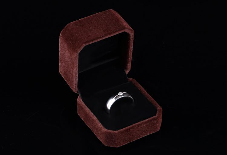 High Quality Velvet Jewelry Gift Box ONLY Without LOGO For Drop shipping 3 size Options HH174