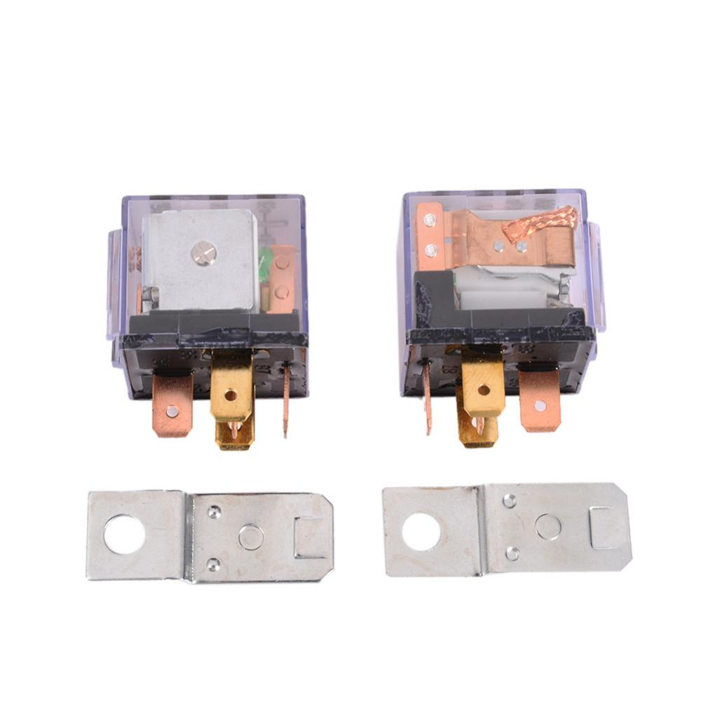 5pin Relays 12v 80a 1nc 1no Spdt 5p Green Lamp Automotive Car Relay Dpdt Latching 12vdc Sockets 5 Pin Mount Series High Quality China Sup