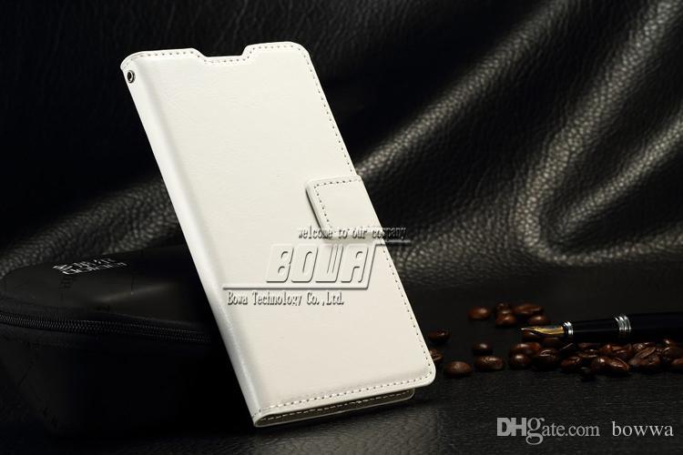 Xperia Z4 Z3 için Cüzdan Kılıfları, lüks Kitap stil Standı Sony Xperia Z4 Z3 Için Deri Kart Flip Kapak Kılıf