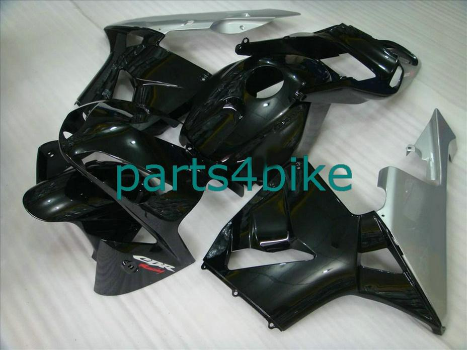 Hot sale black silver body parts for Honda fairings CBR600RR 2003 2006 Parts4bike fairing kit CBR 600RR 03 04 CBR 600 RR VPSI