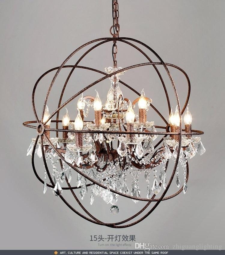 american retro industrial wind chandelier european style living room rh dhgate com