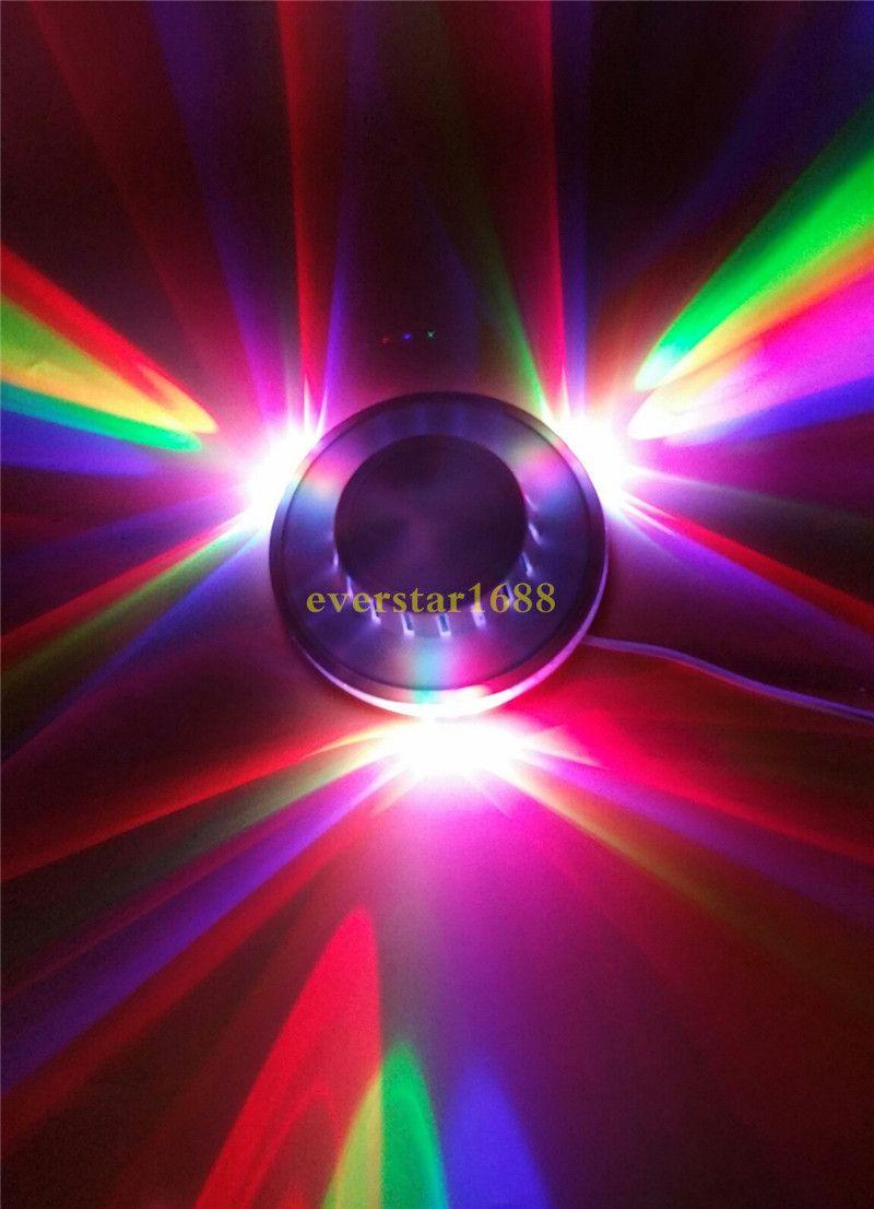 Girasol LED Light Magic es auto activado por voz LED RGB Stage Light para fiesta en casa Disco Stage