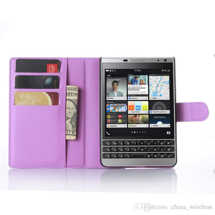 BB leap Luxury Cases For BlackBerry Passport Silver Edition With Stand Magnetic Wallet PU Leather Flip Covers Bag Skin For BB Priv