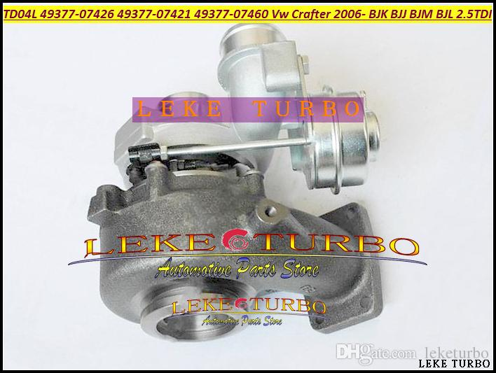 TD04L 49377-07426 49377-07421 49377-07460 076145701G турбонагнетатель для Фольксваген Крафтер 2006 - BJK BJL БДД компания BJM 2.5 л TDI