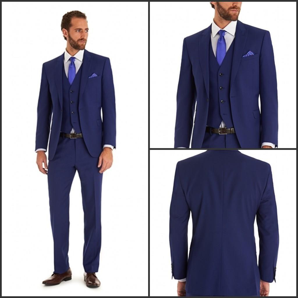 2015 A Dark Blue Suit Dress Wedding The Groom The Groom'S Best Man ...